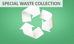 Special waste collection ECSA Maintenance