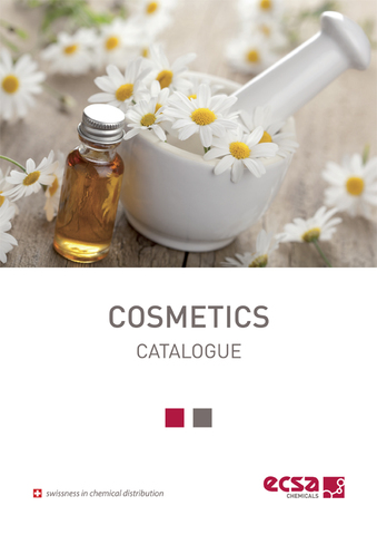 Cosmetica catalogo ECSA Chemicals