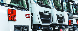 Ecsa trucks logistic services